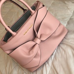 Baby Pink Bow Purse